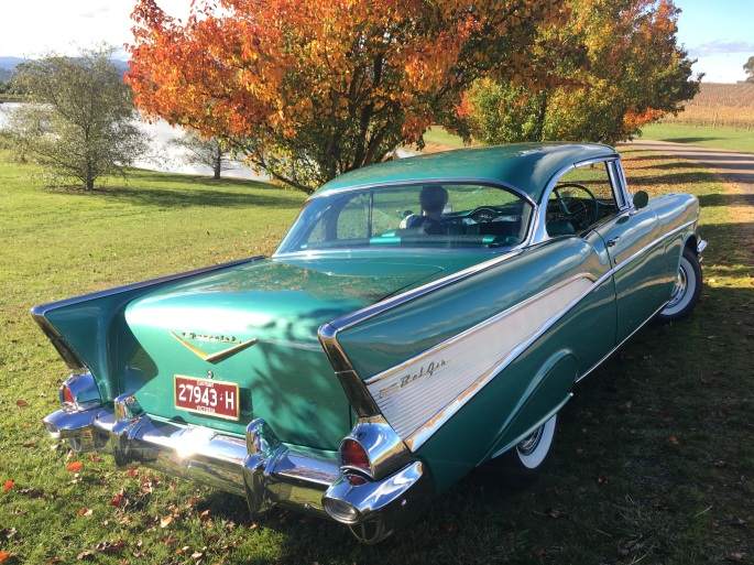 1957 Chevrolet Oakridge Winery, autumn – lunch.