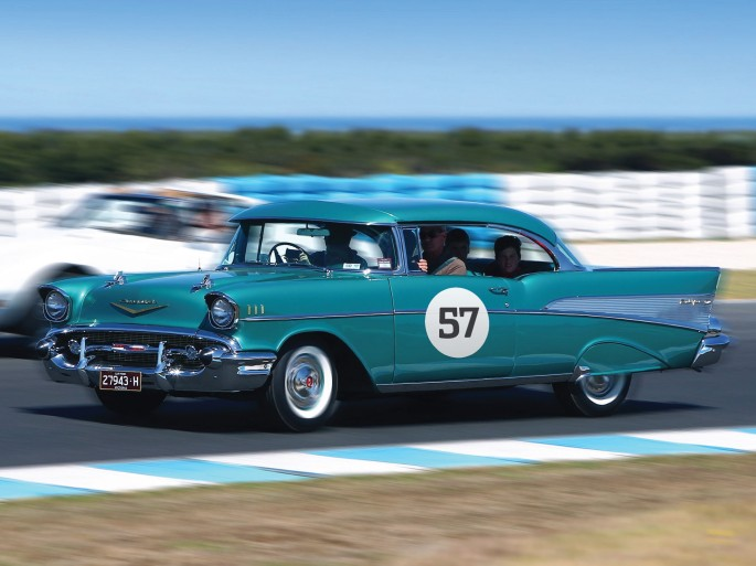 Race track time (slowly!) at the Phillip Island Grand Prix circuit.