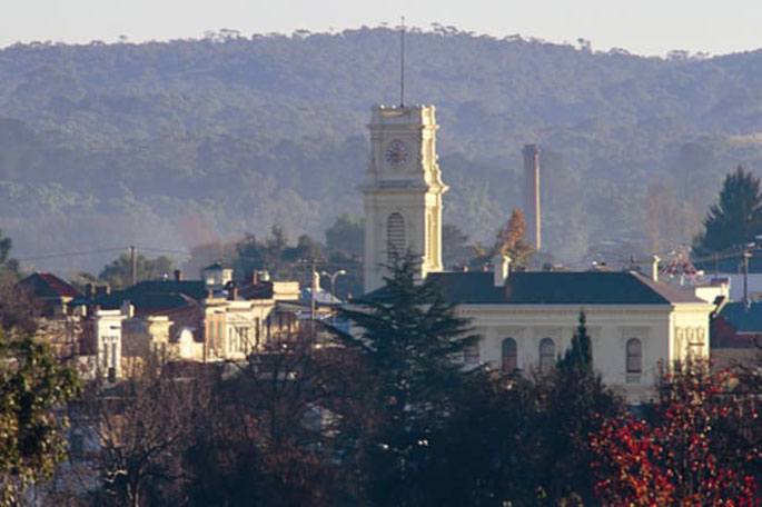 Castlemaine, Victorian goldfields